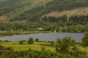 Canal becomes Loch Lochy