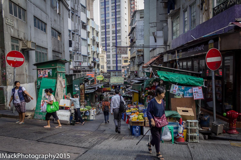 File:Fuk Wing Street, looking south east from Pei Ho ... |Hong Kong Street