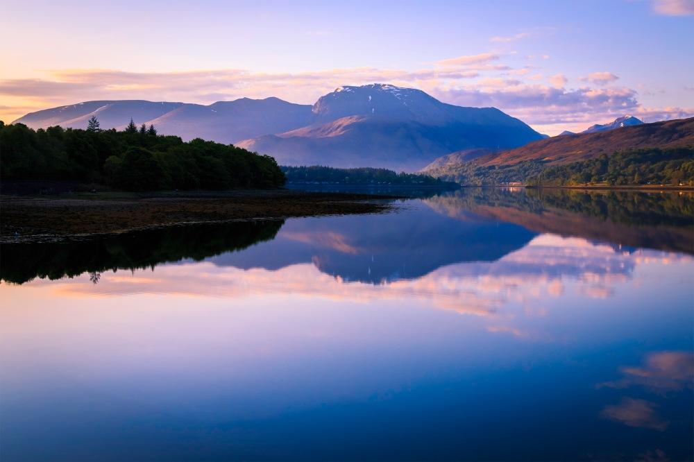 Ben Nevis from Loch Eil 2